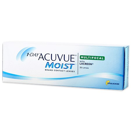 Acuvue 1-DAY ACUVUE MOIST Multifocal 30pk contacts