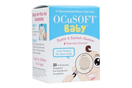 Ocusoft Baby Tearless Eyelid and Eyelash Cleanser SkincareTreatments